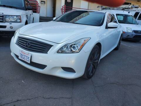 2010 Infiniti G37 Coupe for sale at Convoy Motors LLC in National City CA
