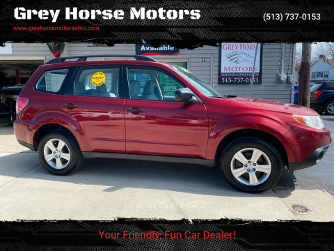 2011 Subaru Forester for sale at Grey Horse Motors in Hamilton OH
