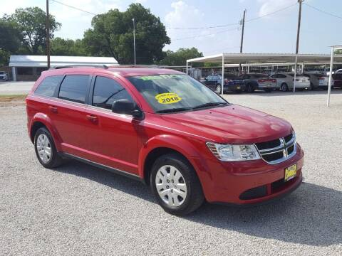 2018 Dodge Journey for sale at Bostick's Auto & Truck Sales in Brownwood TX