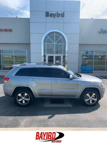 2016 Jeep Grand Cherokee for sale at Bayird Truck Center in Paragould AR