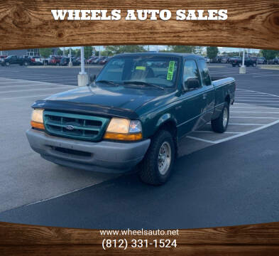 2000 Ford Ranger for sale at Wheels Auto Sales in Bloomington IN
