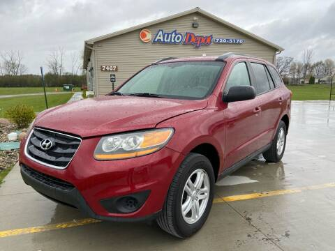 2011 Hyundai Santa Fe for sale at The Auto Depot in Mount Morris MI