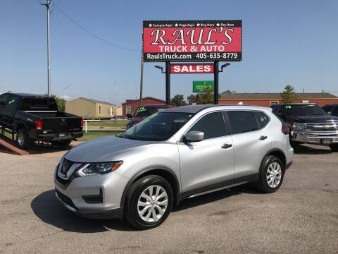 2018 Nissan Rogue for sale at RAUL'S TRUCK & AUTO SALES, INC in Oklahoma City OK