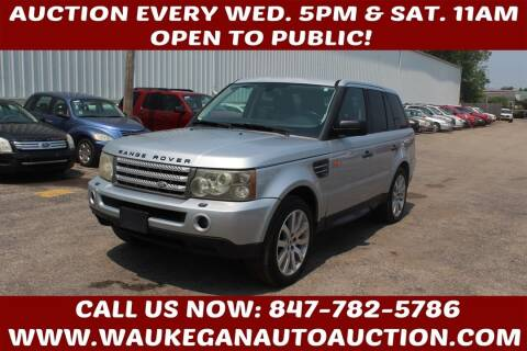 2006 Land Rover Range Rover Sport for sale at Waukegan Auto Auction in Waukegan IL