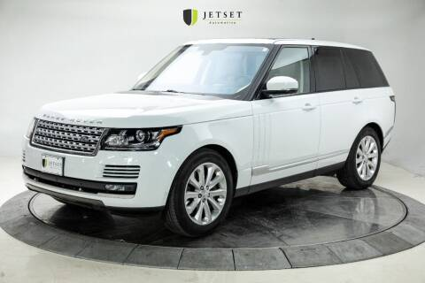 2016 Land Rover Range Rover for sale at Jetset Automotive in Cedar Rapids IA