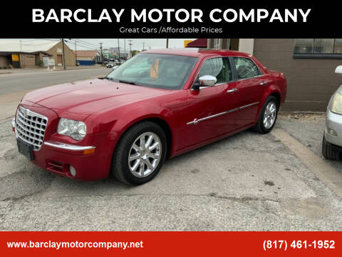 2006 Chrysler 300 for sale at BARCLAY MOTOR COMPANY in Arlington TX