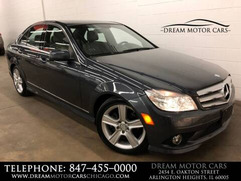 2010 Mercedes-Benz C-Class for sale at Dream Motor Cars in Arlington Heights IL