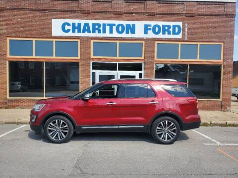 2016 Ford Explorer for sale at Chariton Ford in Chariton IA