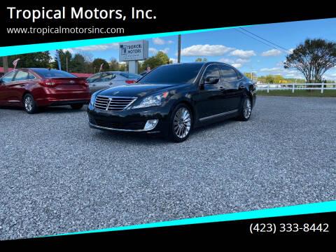 2014 Hyundai Equus for sale at Tropical Motors, Inc. in Riceville TN