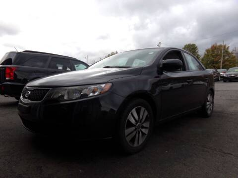 2013 Kia Forte for sale at Pool Auto Sales Inc in Spencerport NY