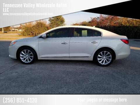 2010 Buick LaCrosse for sale at Tennessee Valley Wholesale Autos LLC in Huntsville AL