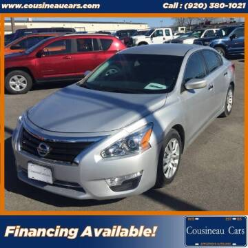 2013 Nissan Altima for sale at CousineauCars.com in Appleton WI