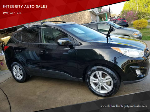2013 Hyundai Tucson for sale at INTEGRITY AUTO SALES in Clarksville TN