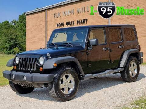 2011 Jeep Wrangler Unlimited for sale at I-95 Muscle in Hope Mills NC