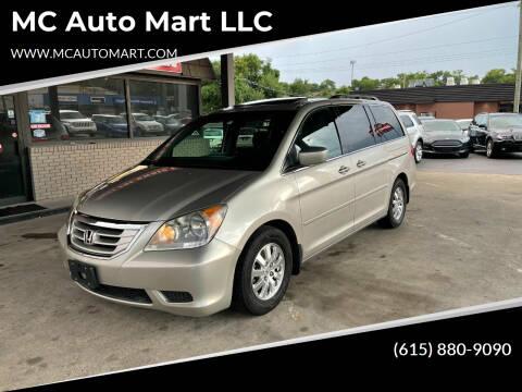 2008 Honda Odyssey for sale at MC Auto Mart LLC in Hermitage TN