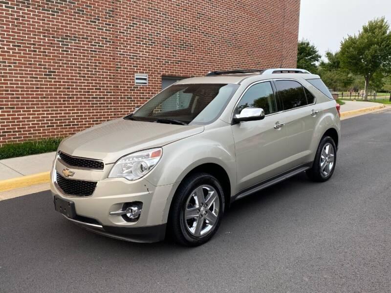 2014 Chevrolet Equinox for sale at D&S IMPORTS, LLC in Strasburg VA