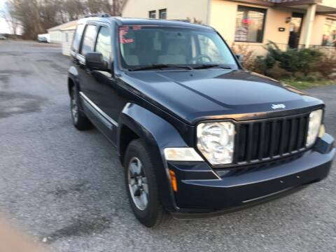 2008 Jeep Liberty for sale at RJD Enterprize Auto Sales in Scotia NY