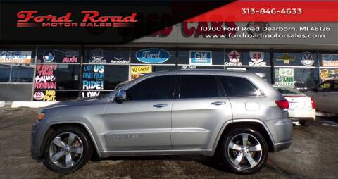 2015 Jeep Grand Cherokee for sale at Ford Road Motor Sales in Dearborn MI