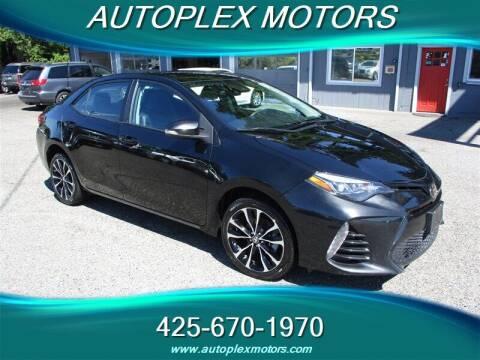 2018 Toyota Corolla for sale at Autoplex Motors in Lynnwood WA