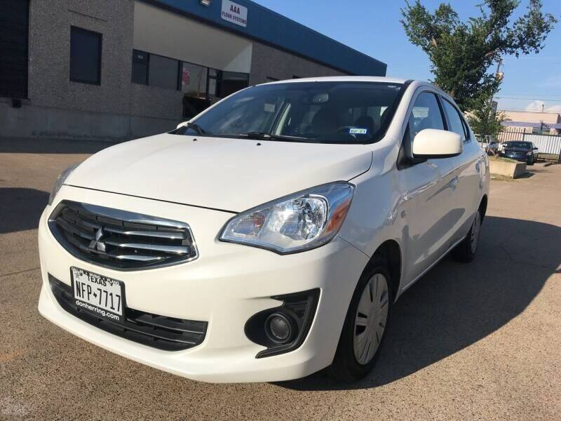 2017 Mitsubishi Mirage G4 for sale at BJ International Auto LLC in Dallas TX