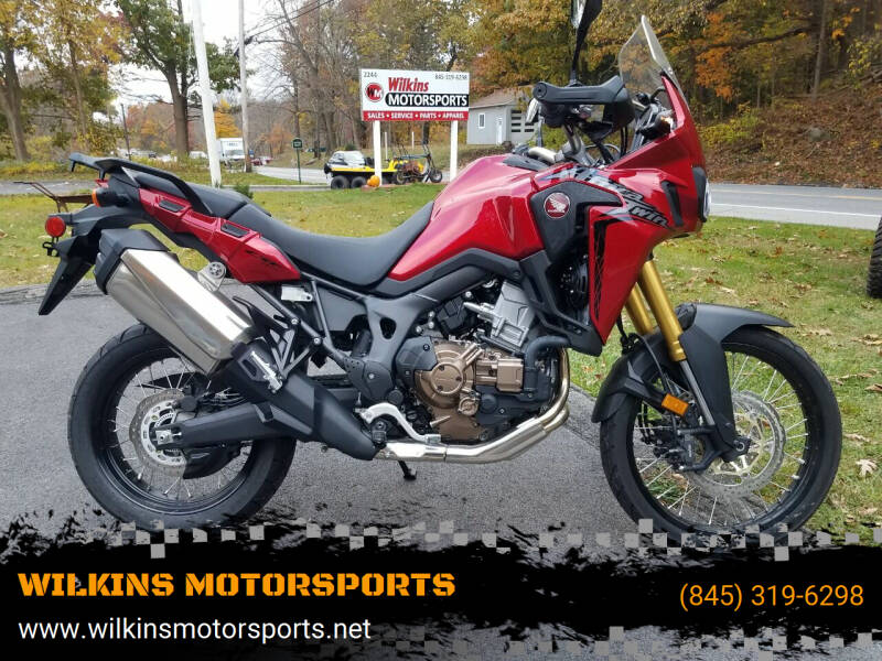 2017 Honda Africa Twin for sale at WILKINS MOTORSPORTS in Brewster NY