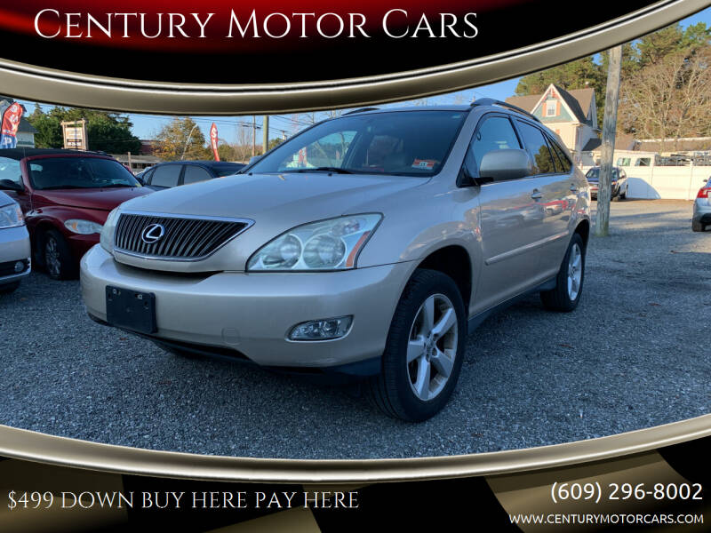 2004 Lexus RX 330 for sale at Century Motor Cars in West Creek NJ