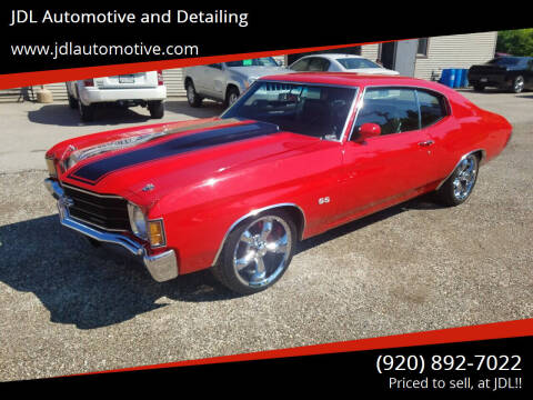 1972 Chevrolet Chevelle Malibu for sale at JDL Automotive and Detailing in Plymouth WI
