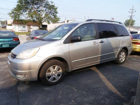 2004 Toyota Sienna for sale at A-Auto Luxury Motorsports in Milwaukee WI