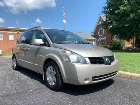 2006 Nissan Quest for sale at Automax of Eden in Eden NC