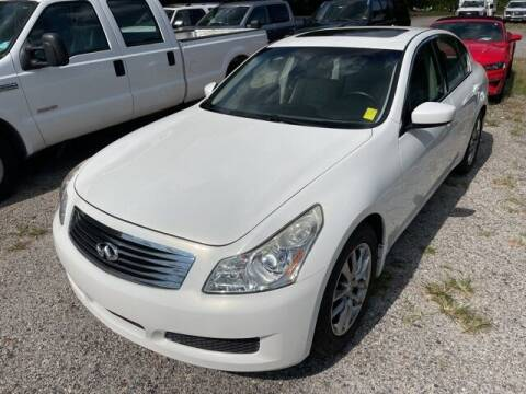 2009 Infiniti G37 Sedan for sale at BILLY HOWELL FORD LINCOLN in Cumming GA