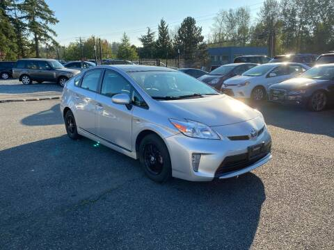 2014 Toyota Prius for sale at LKL Motors in Puyallup WA