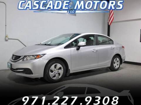 2013 Honda Civic for sale at Cascade Motors in Portland OR