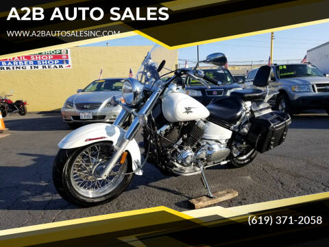 2007 Yamaha V STAR 1100 for sale at A2B AUTO SALES in Chula Vista CA