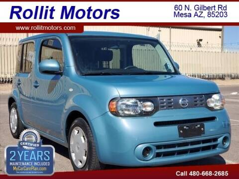 2011 Nissan cube for sale at Rollit Motors in Mesa AZ