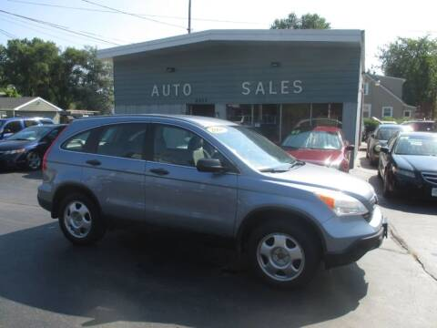 2008 Honda CR-V for sale at SHEFFIELD MOTORS INC in Kenosha WI