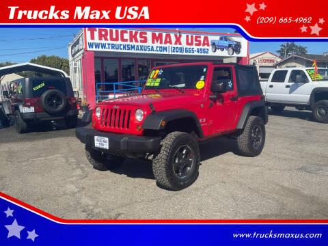 2007 Jeep Wrangler for sale at Trucks Max USA in Manteca CA