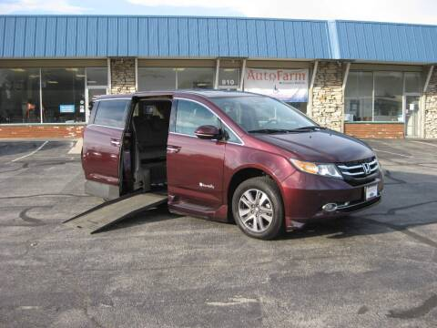 2014 Honda Odyssey for sale at McCrocklin Mobility in Middletown IN