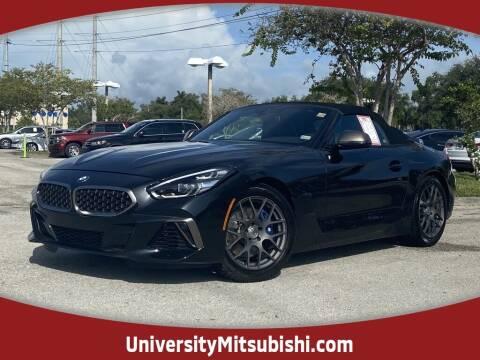 2020 BMW Z4 for sale at University Mitsubishi in Davie FL