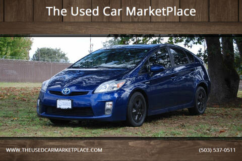 2010 Toyota Prius for sale at The Used Car MarketPlace in Newberg OR