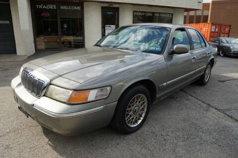 2001 Mercury Grand Marquis for sale at PA Motorcars in Conshohocken PA