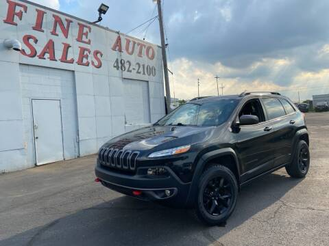 2015 Jeep Cherokee for sale at Fine Auto Sales in Cudahy WI