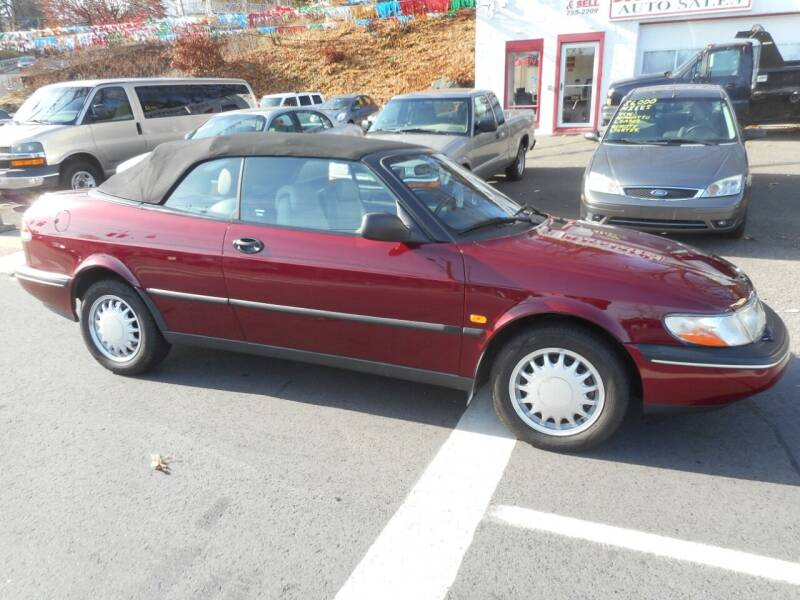 1996 Saab 900 for sale at Ricciardi Auto Sales in Waterbury CT
