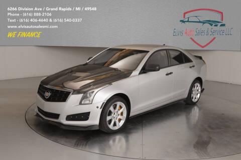 2014 Cadillac ATS for sale at Elvis Auto Sales LLC in Grand Rapids MI