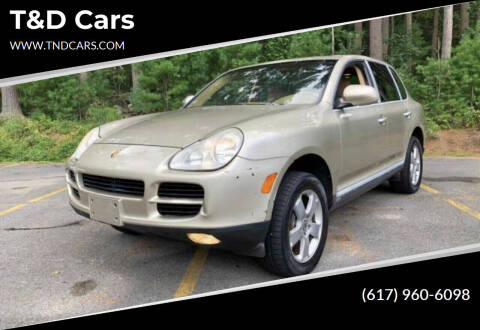 2004 Porsche Cayenne for sale at T&D Cars in Holbrook MA