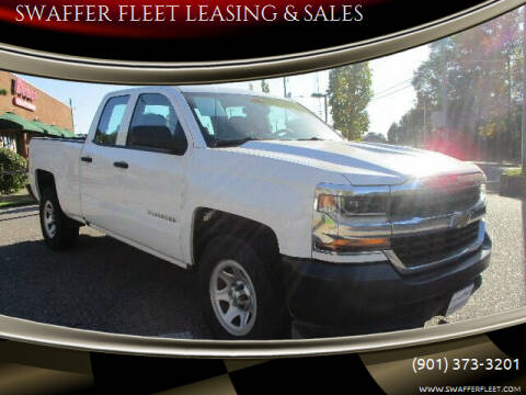2018 Chevrolet Silverado 1500 for sale at SWAFFER FLEET LEASING & SALES in Memphis TN