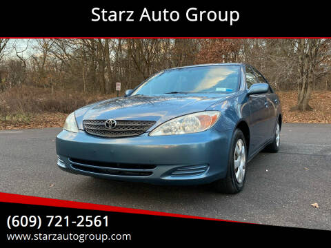2004 Toyota Camry for sale at Starz Auto Group in Delran NJ