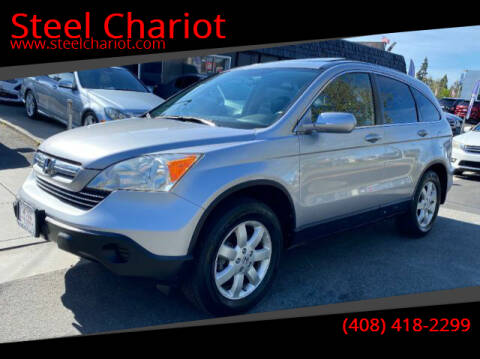 2007 Honda CR-V for sale at Steel Chariot in San Jose CA
