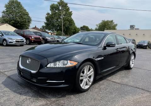 2012 Jaguar XJL for sale at Samford Auto Sales in Riverview MI