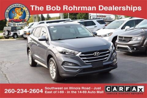 2018 Hyundai Tucson for sale at BOB ROHRMAN FORT WAYNE TOYOTA in Fort Wayne IN