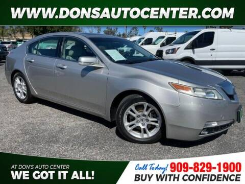 2010 Acura TL for sale at Dons Auto Center in Fontana CA